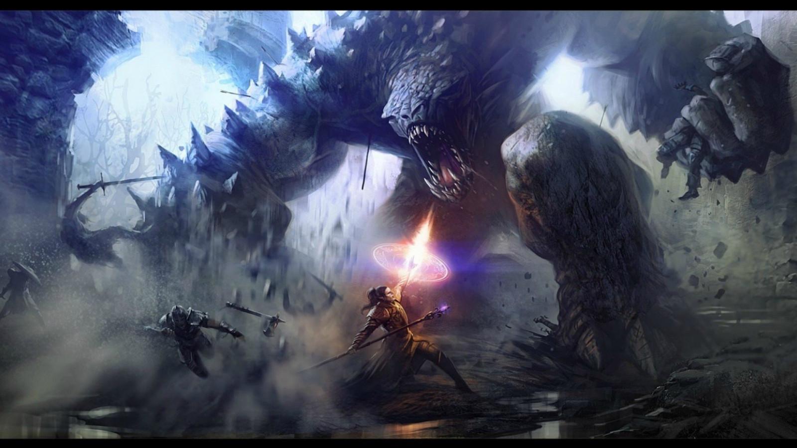 Monster Kampf Spiele