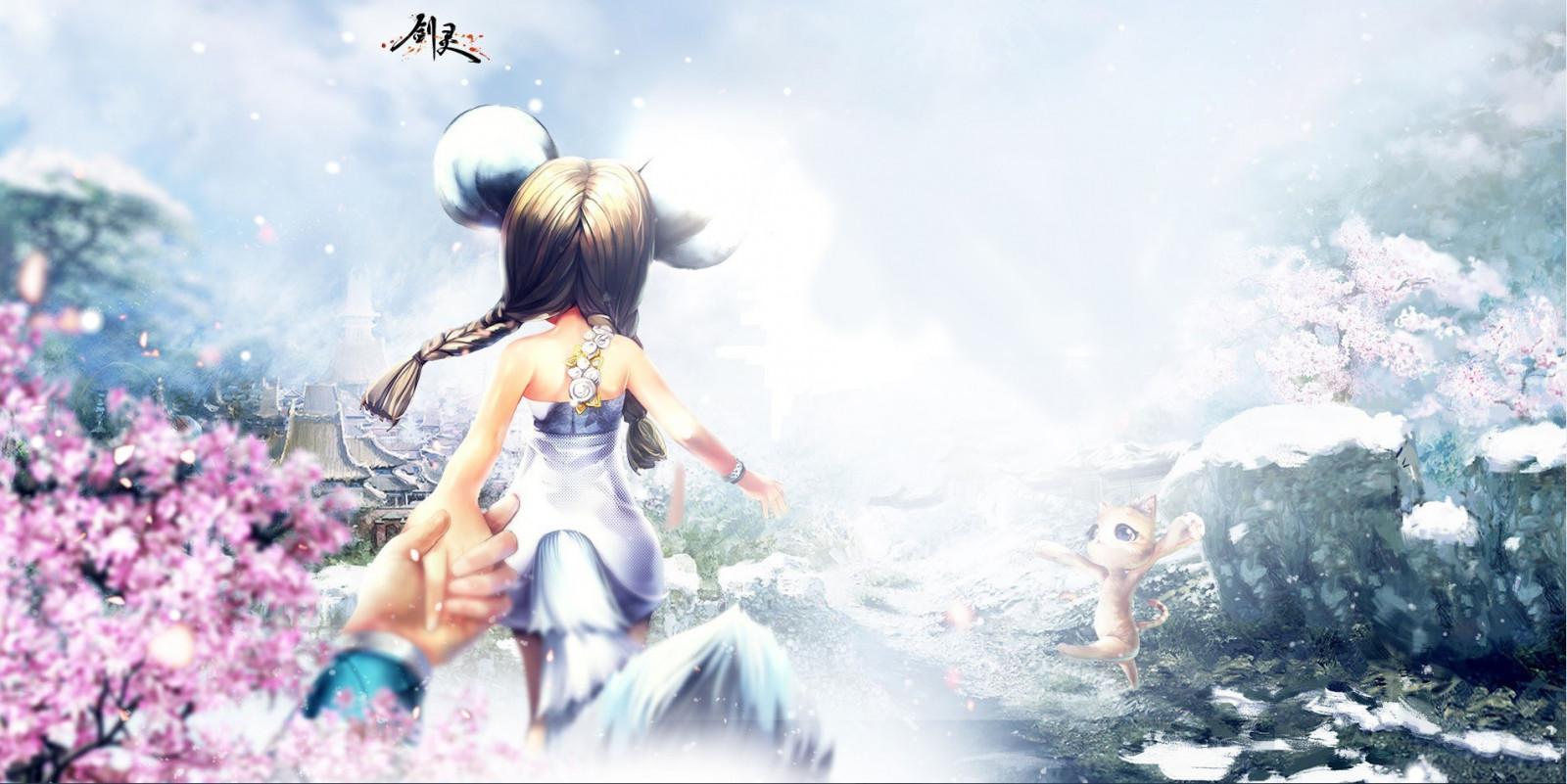 Wallpaper : anime, PC gaming, Blade Soul, mythology ...