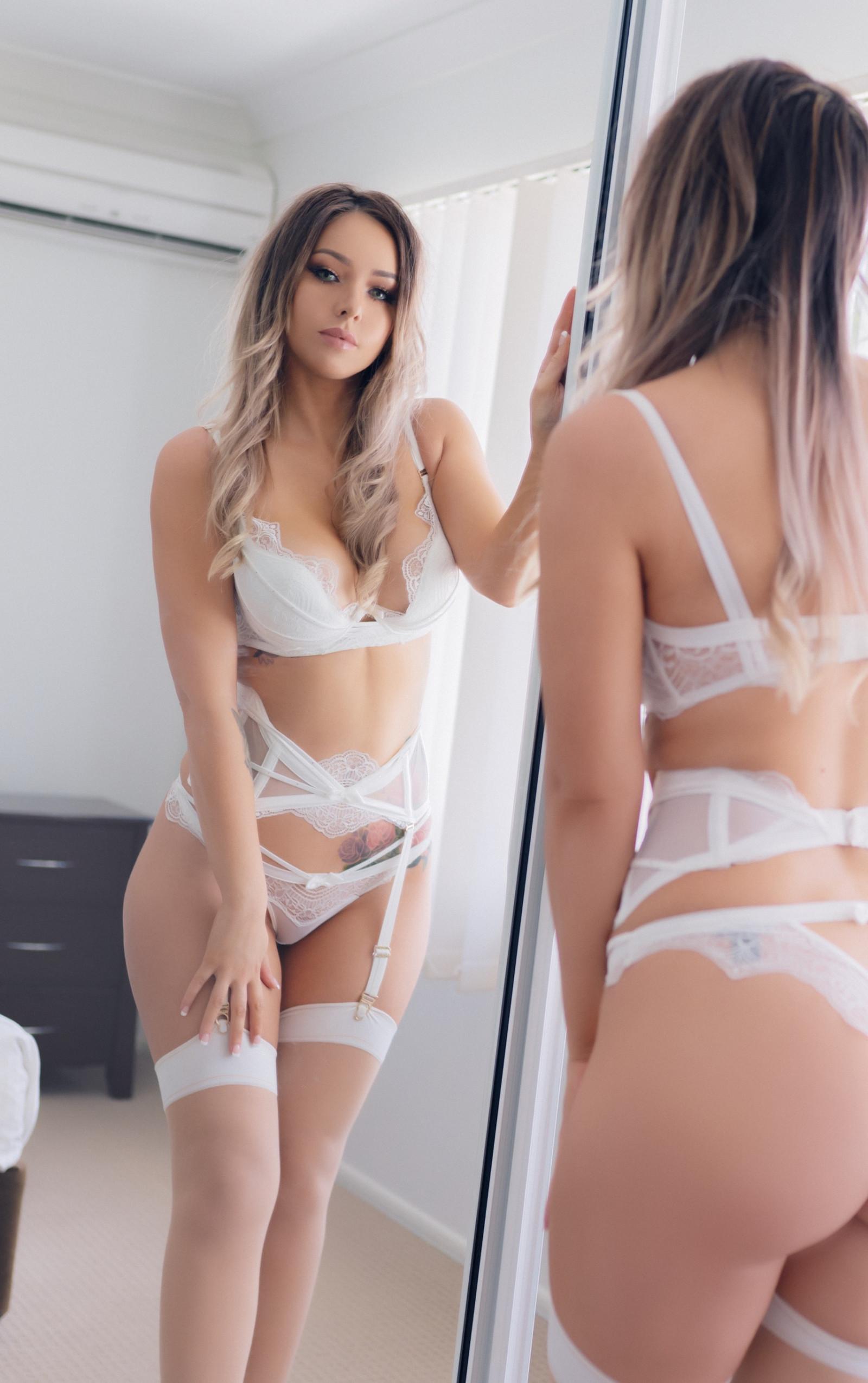 Wallpaper  Amy Thunderbolt, Model, Blonde, Long Hair -2679