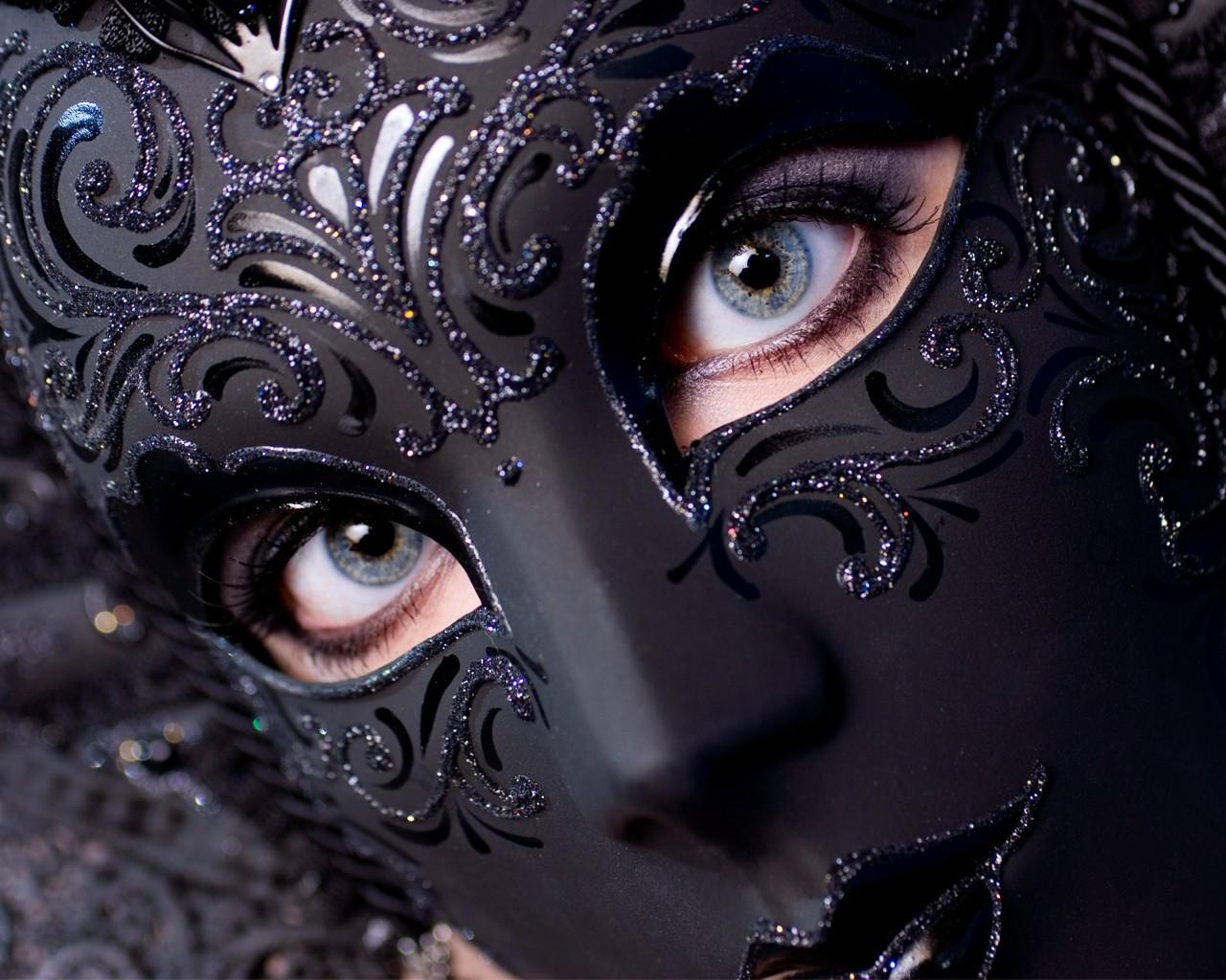 Картинки темная маска