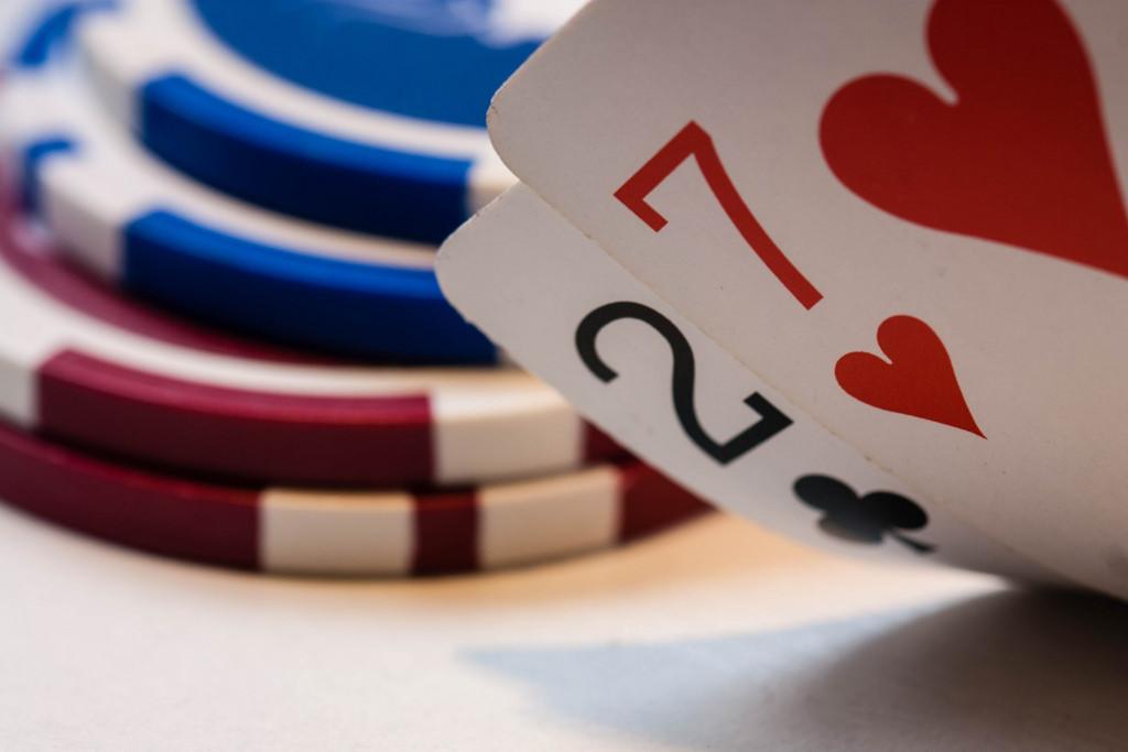 Heart Chips Poker Gambling Macromondays Product Card Game Design