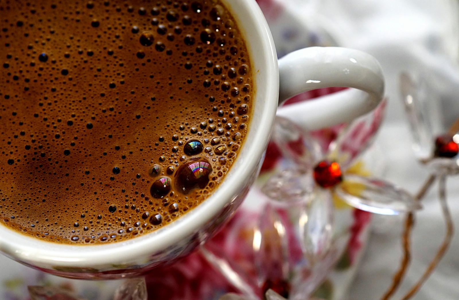 Hintergrundbilder : Makro, Getränk, Blasen, Cappuccino, türkischer ...