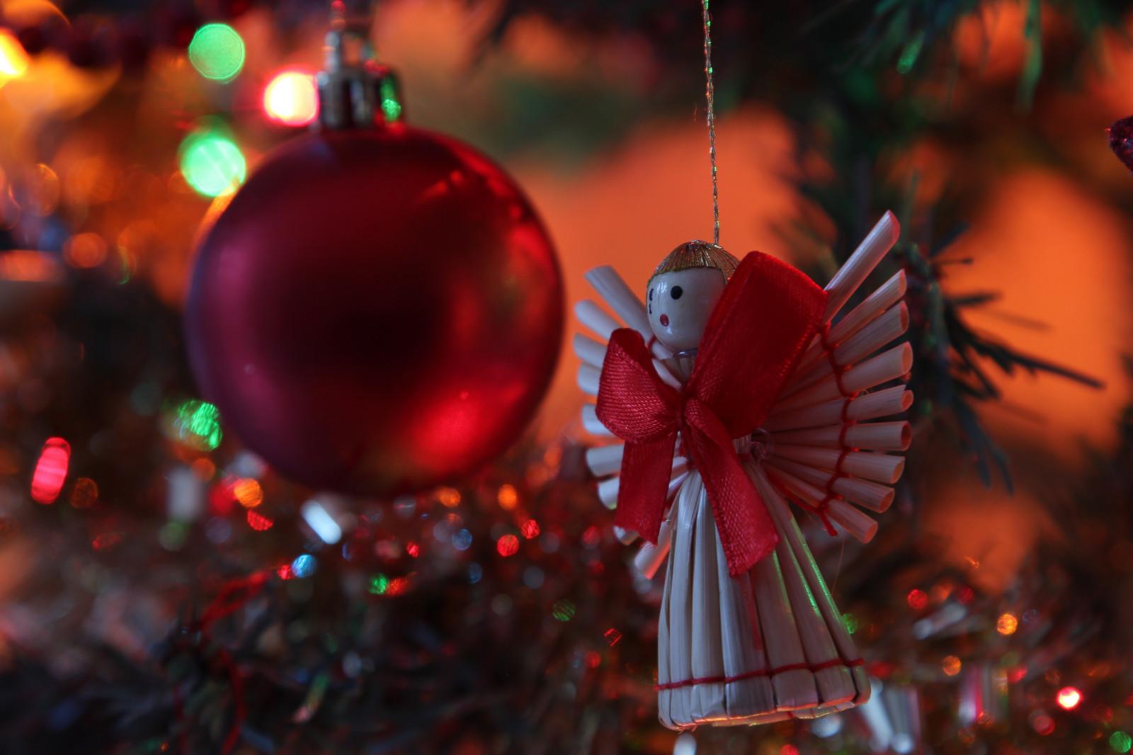 Weihnachtsbaum Tradition.Hintergrundbilder Beleuchtung Rot Engel Kanon Weihnachten