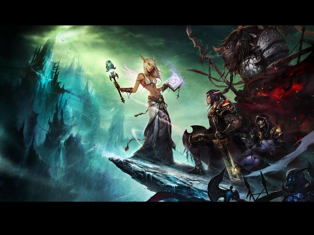 Fond D Ecran 1024x768 Px Livres Elf Noir Art Numerique