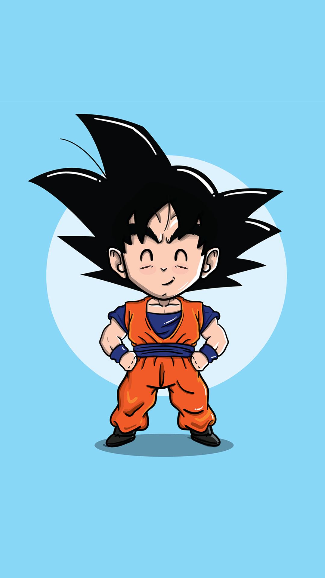Wallpaper Ilustrasi Anime Gambar Kartun Bola Naga Dragon Ball