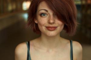 facial tumblr Redhead