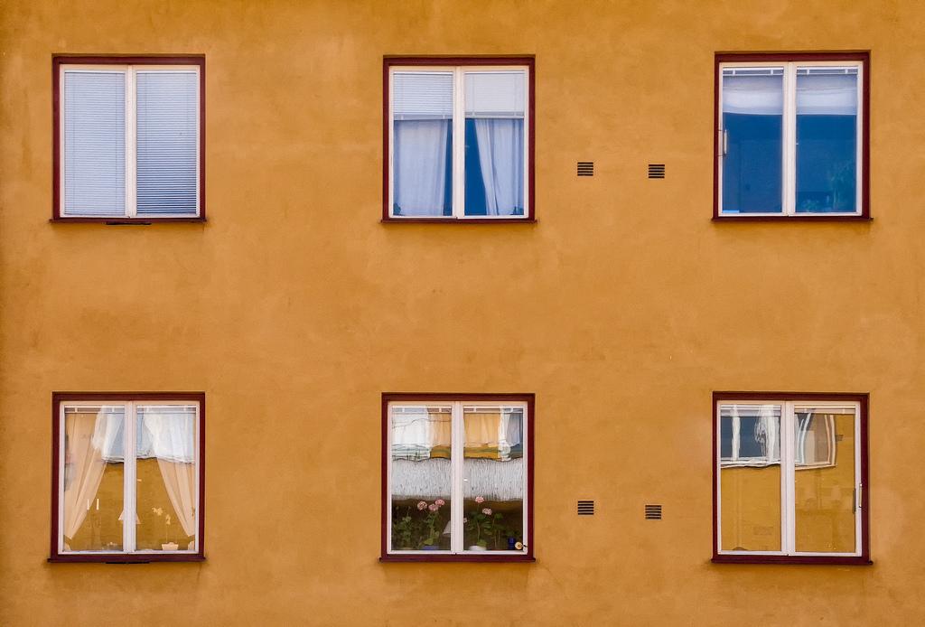 Fondos de pantalla : ventana, Flores, edificio, reflexión, pared ...