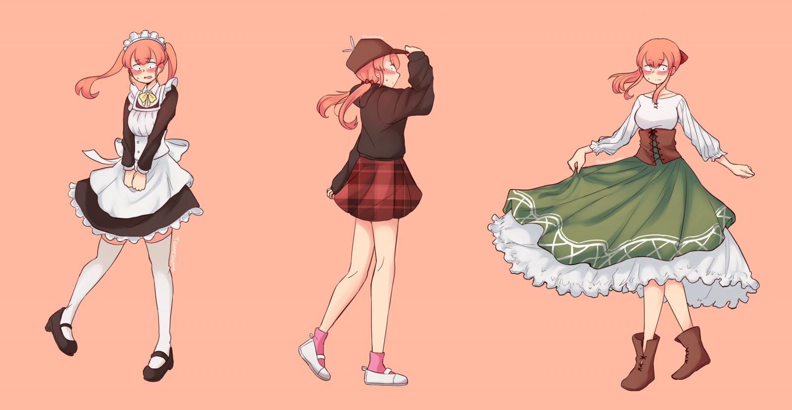 Crossdress anime