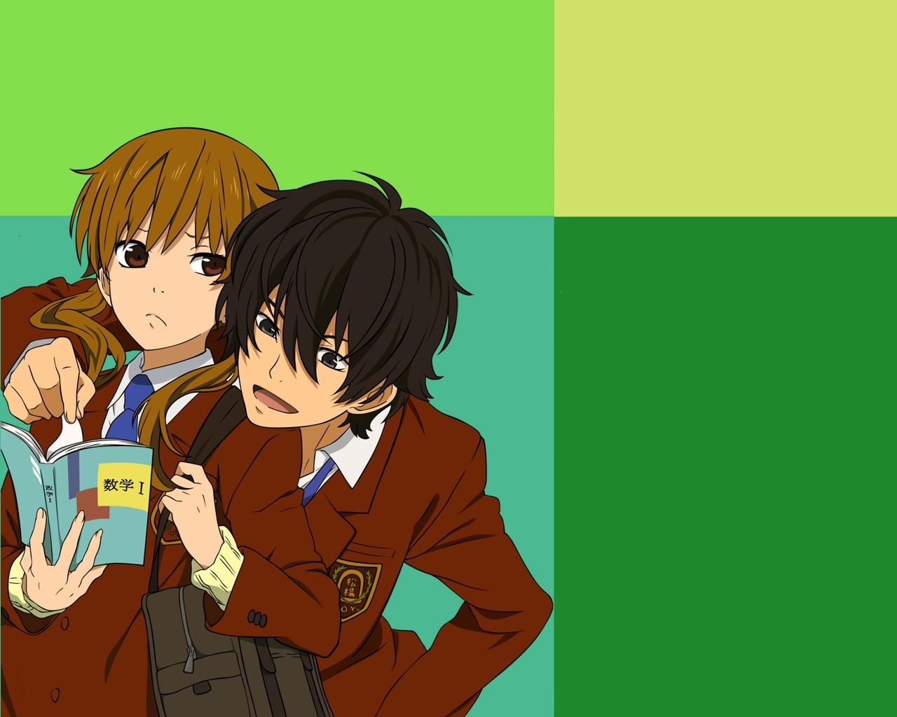 Wallpaper Ilustrasi Anime Gambar Kartun Orang Tonari No