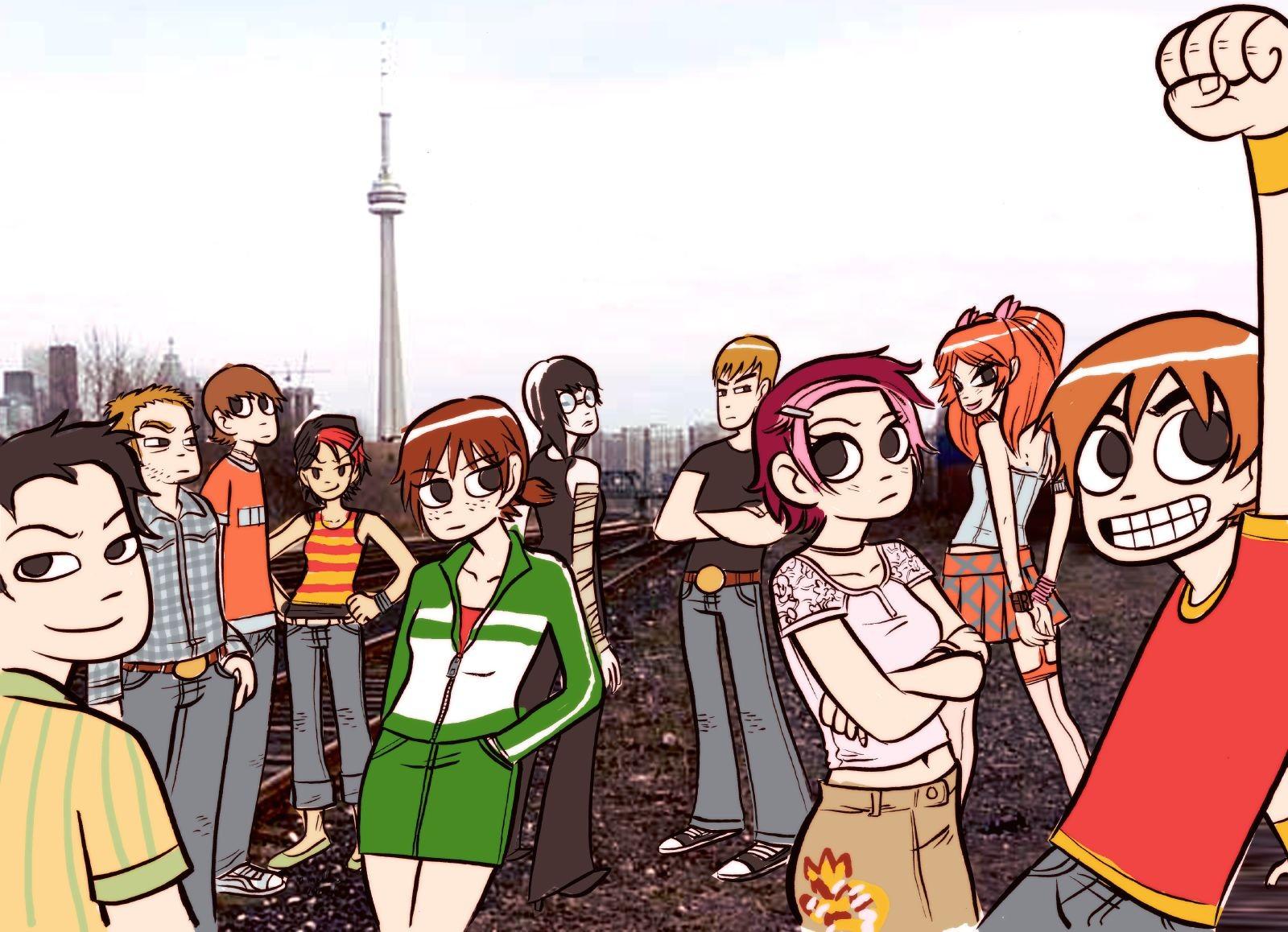Wallpaper Illustration Anime Cartoon Scott Pilgrim