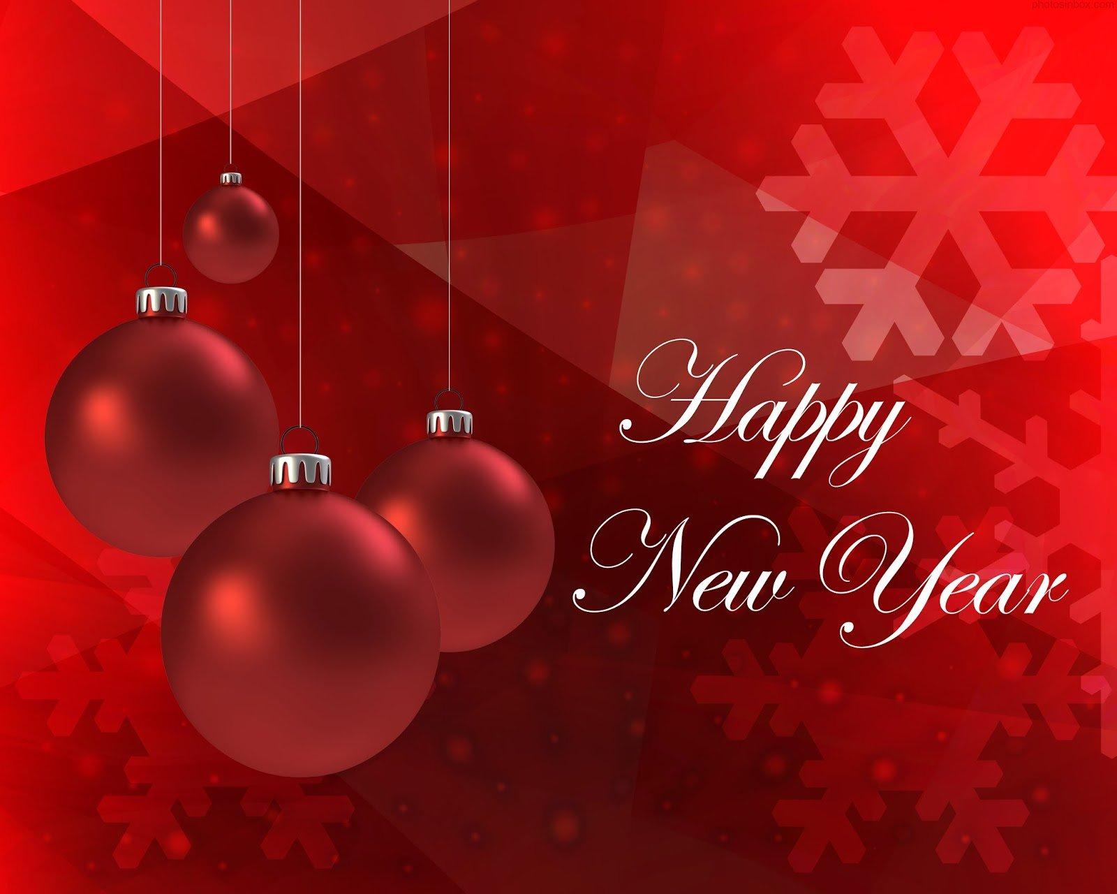 Открытка с новым годом английская