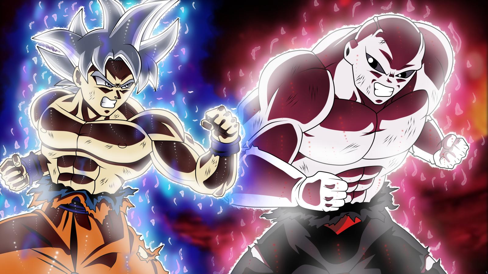 Wallpaper son goku dragon ball super ultra instict - Goku ultra instinct mastered wallpaper ...