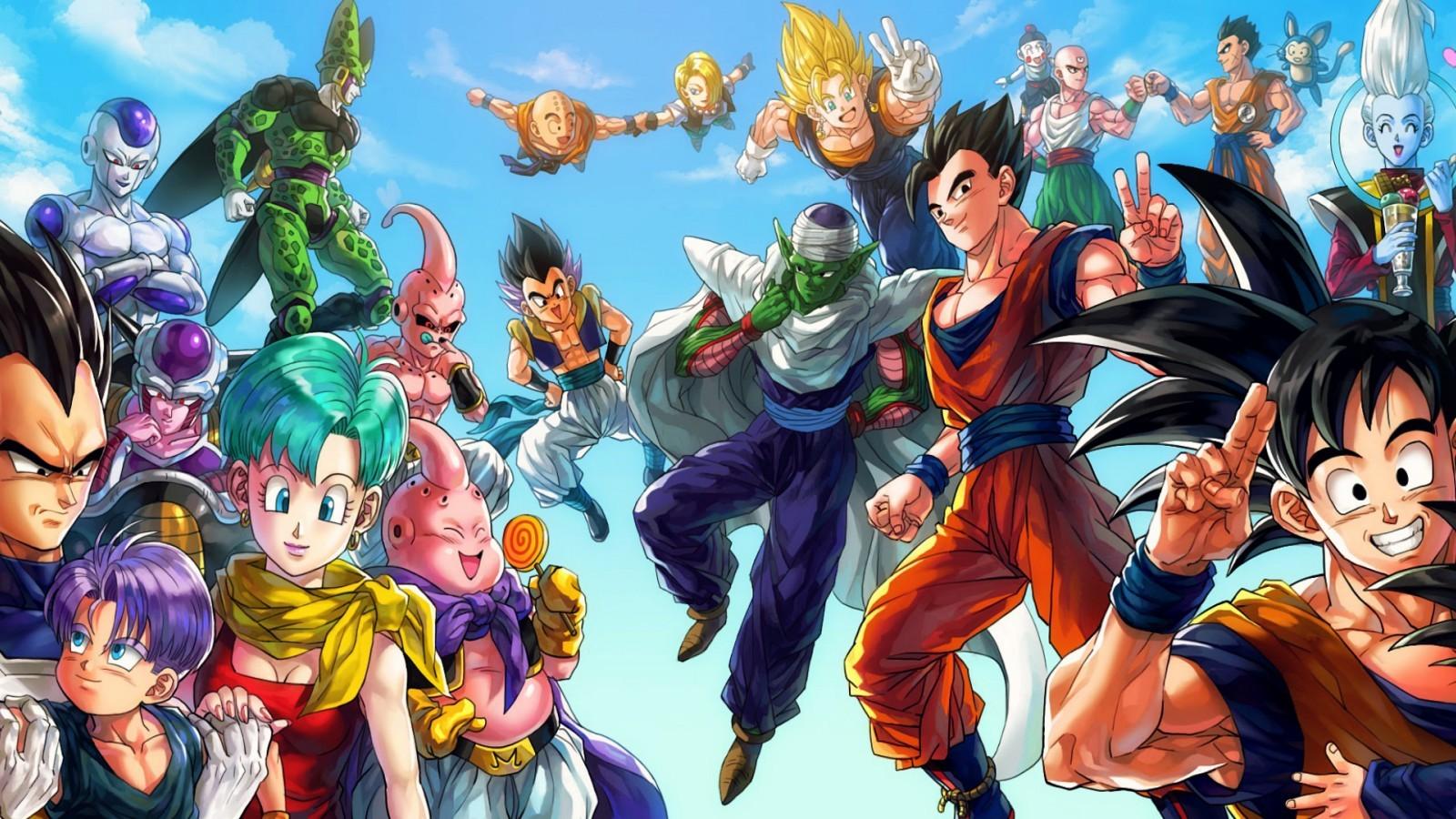 Fond d'écran : illustration, Anime, Dragon Ball, Son Goku, Dragon Ball Z, des bandes dessinées ...