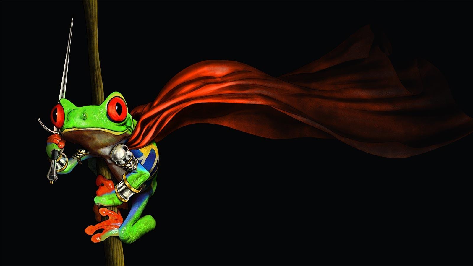 Sfondi : rosso, opera d'arte, rana, anfibio, ARTE, oscurità, 1600x900 px,  Cavalieri, sfondo del computer, vertebrato, personaggio fittizio,  raganella, organismo, Toad il Paladino, Rane di albero occhi 1600x900 -  4kWallpaper - 836254 -