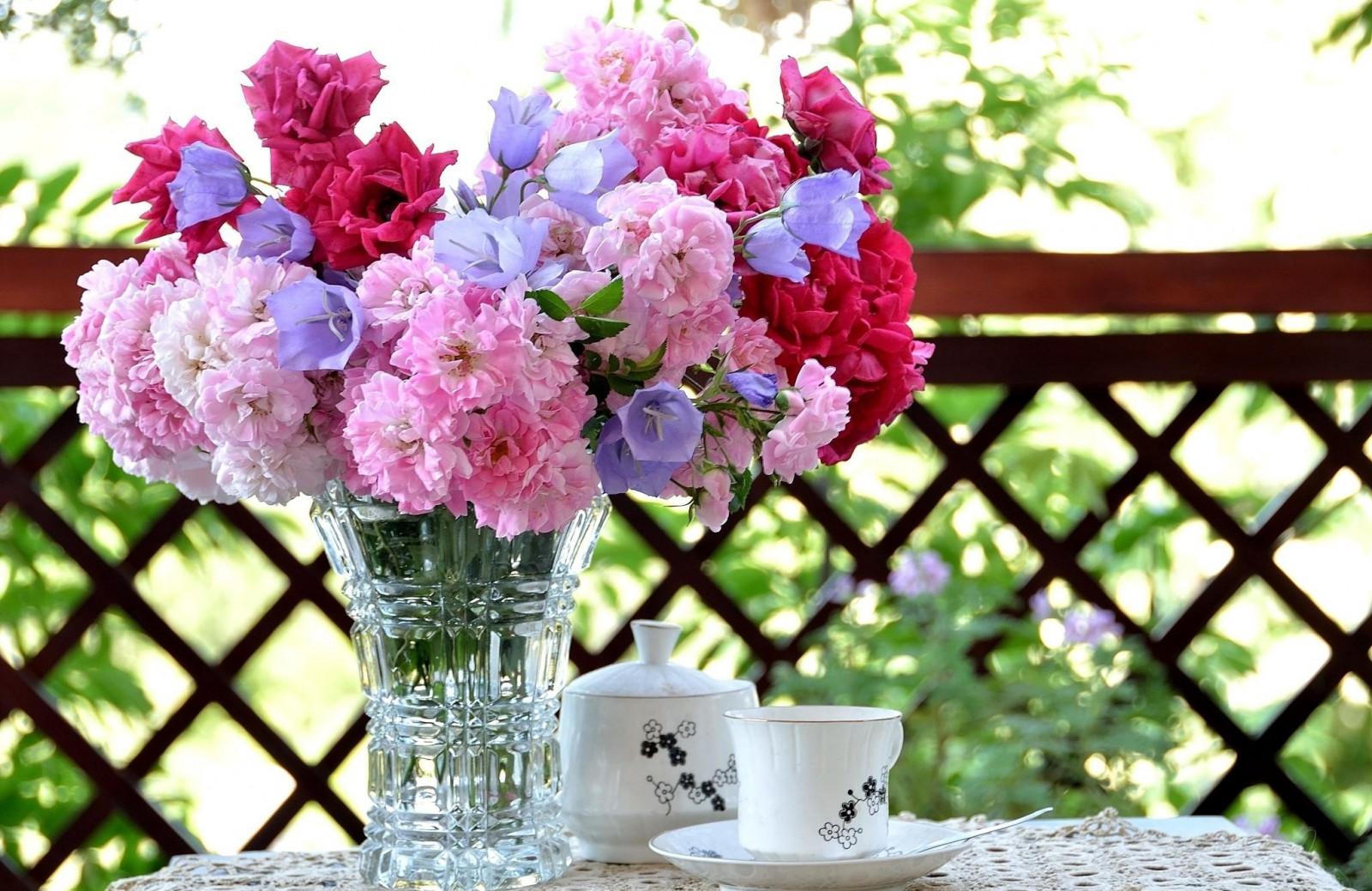 Fond d 39 cran table branche fleur rose printemps - Fleurs roses de printemps ...