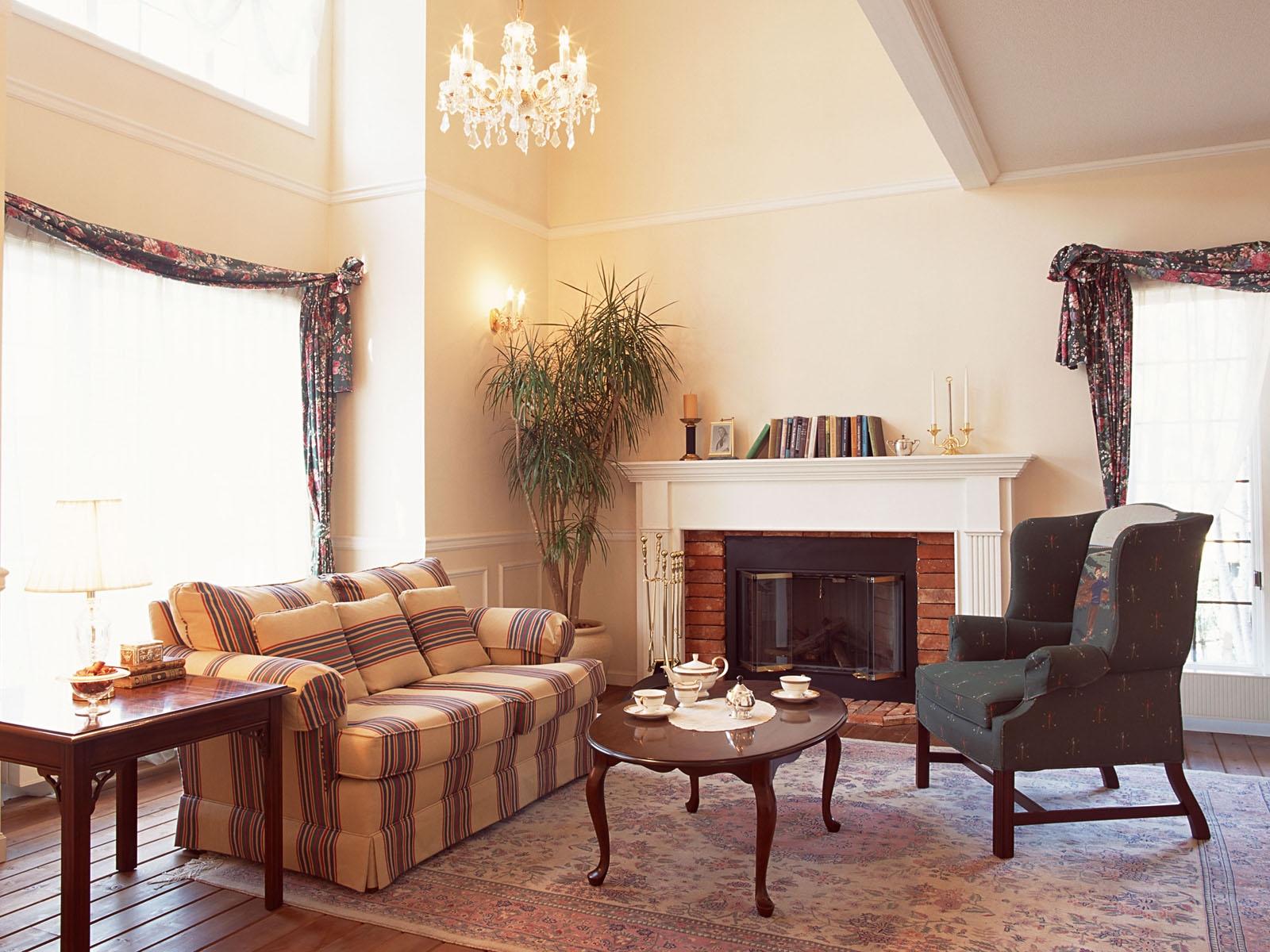Zimmer Tabelle Holz Sessel Kamin Innenarchitektur Hütte Immobilien Esszimmer  Sofa Stock Stil Zuhause Decke Hartholz Villa