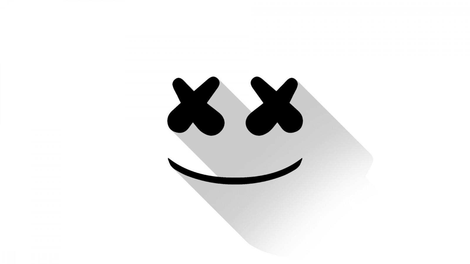デスクトップ壁紙 図 ロゴ 漫画 Marshmello ブランド ハンド