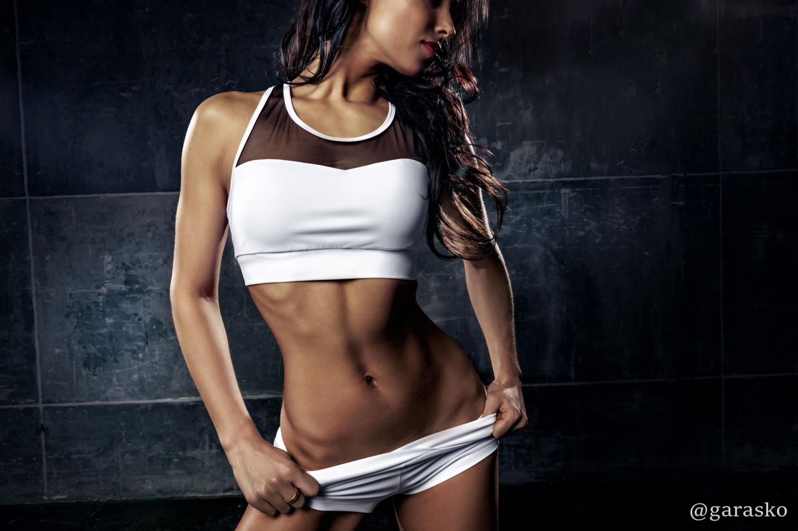 женщины спортивное тело обои