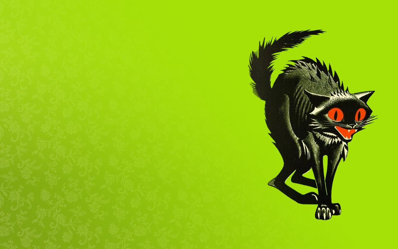Wallpaper Illustration Cat Digital Art Animals Artwork Green