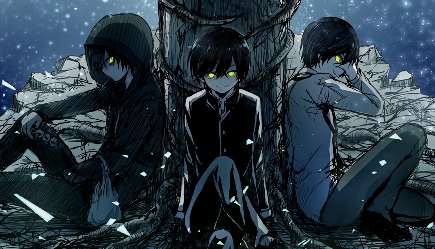 Wallpaper : Charlotte anime, comics, Otosaka Yuu ...