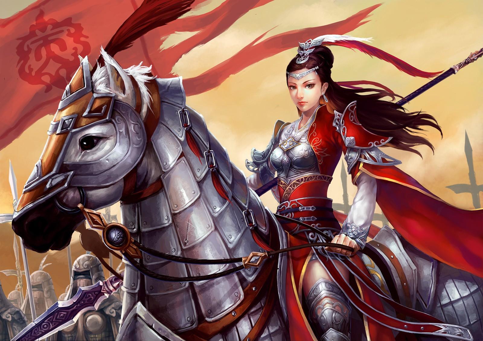Восточный воин в картинках