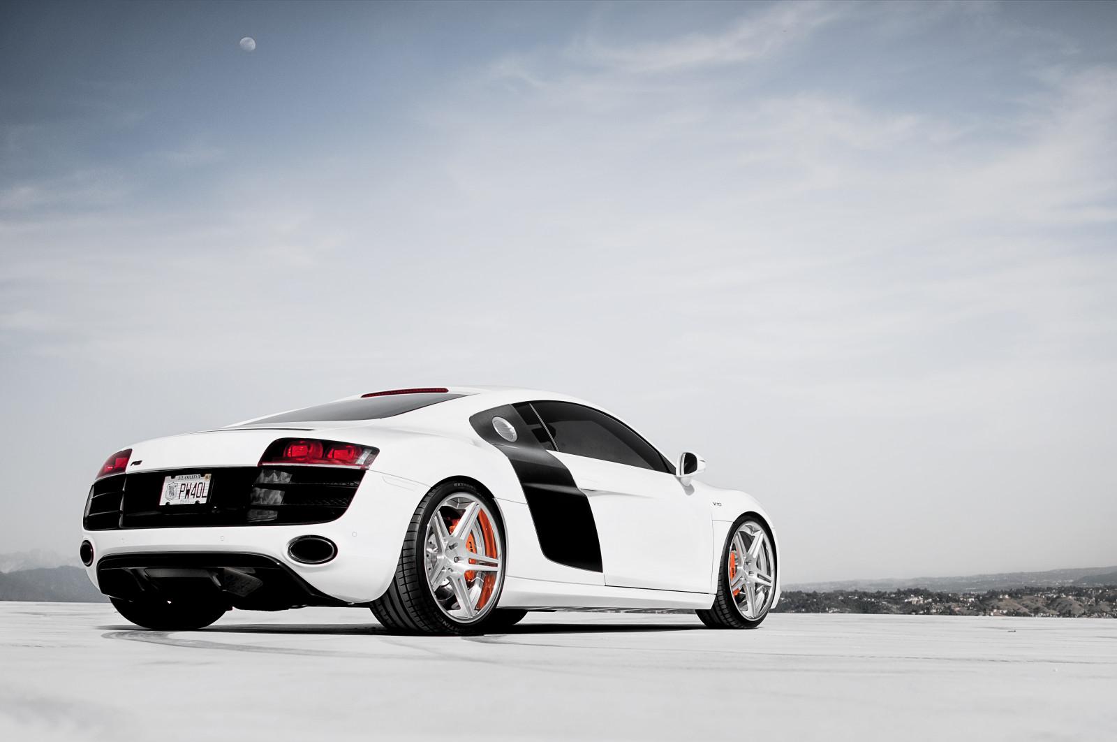 Wallpaper Mobil Sport Putih: Wallpaper : Putih, Audi, Mobil Sport, Audi R8, Mobil