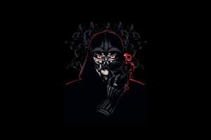 Wallpaper Illustration Star Wars Darth Vader Sith Kodex Comics