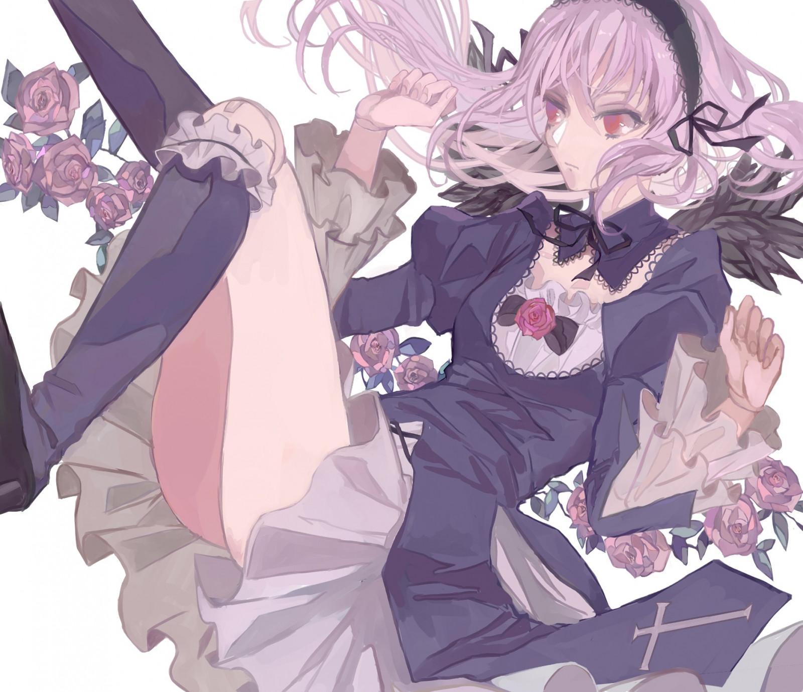 Wallpaper : illustration, anime girls, cartoon, Rozen ...