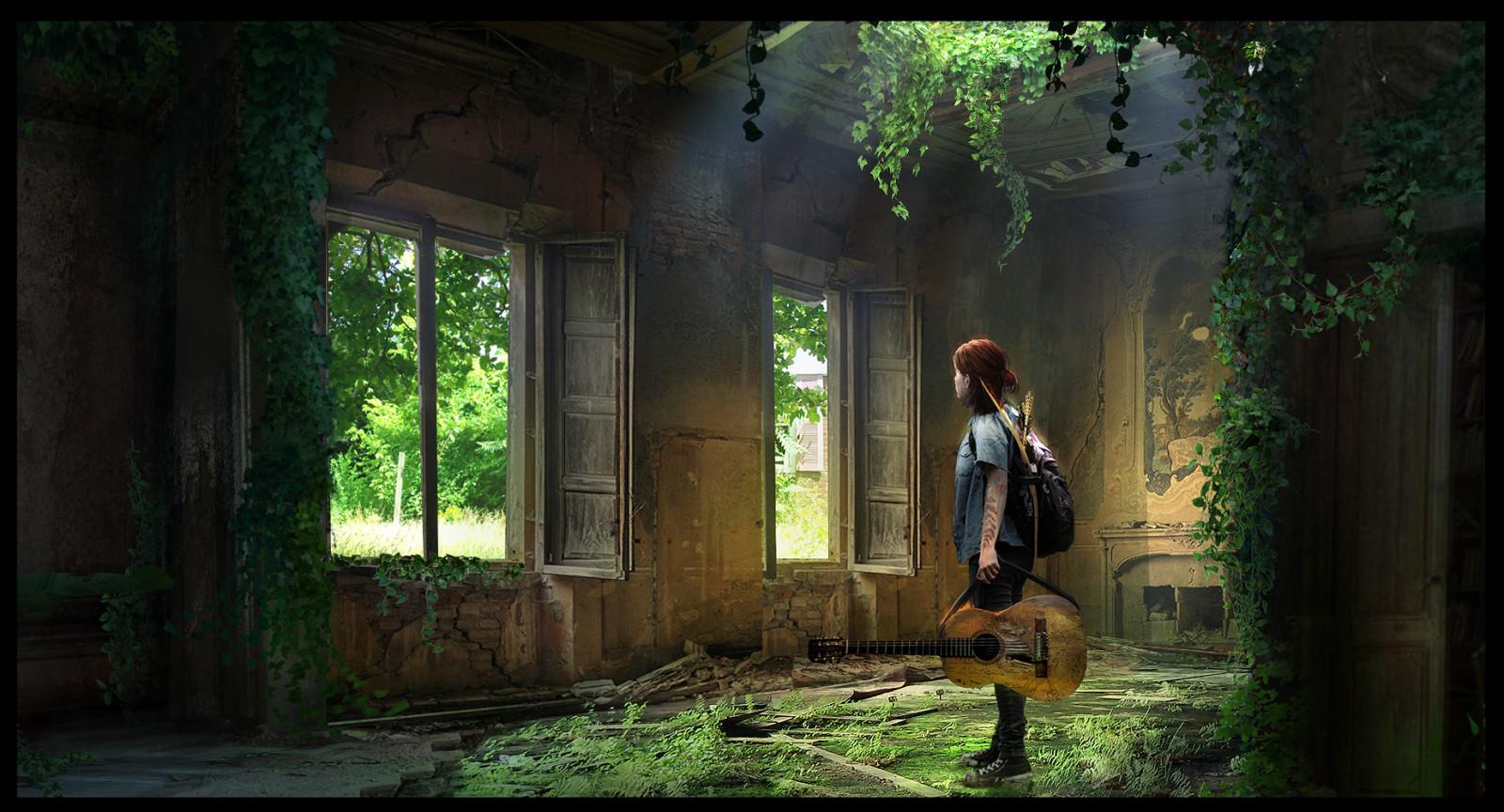 Wallpaper : The Last Of Us, The Last Of Us Part 2, Fan Art