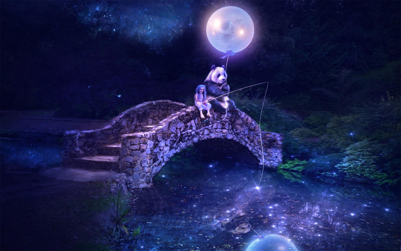 Поздравительные, картинки ночка волшебная