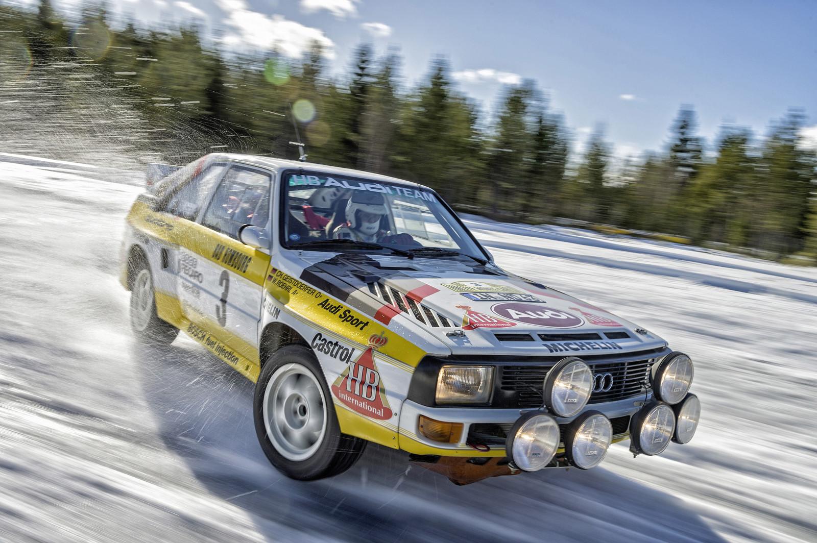 Wallpaper : snow, winter, vehicle, Audi, Quattro, sports ...