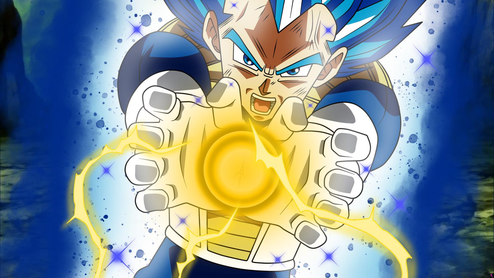 Fond Décran Végéta Dragon Ball Super Saiyan Blue Dragon Ball