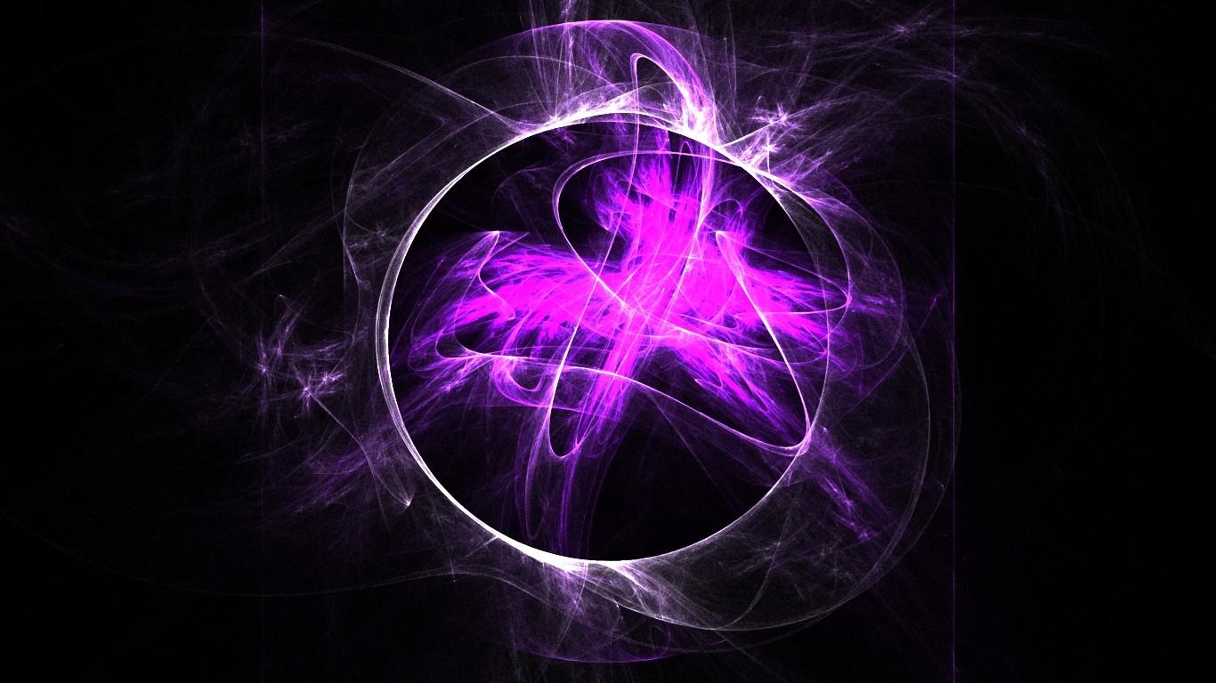 Анимационные, крутые фиолетовые картинки