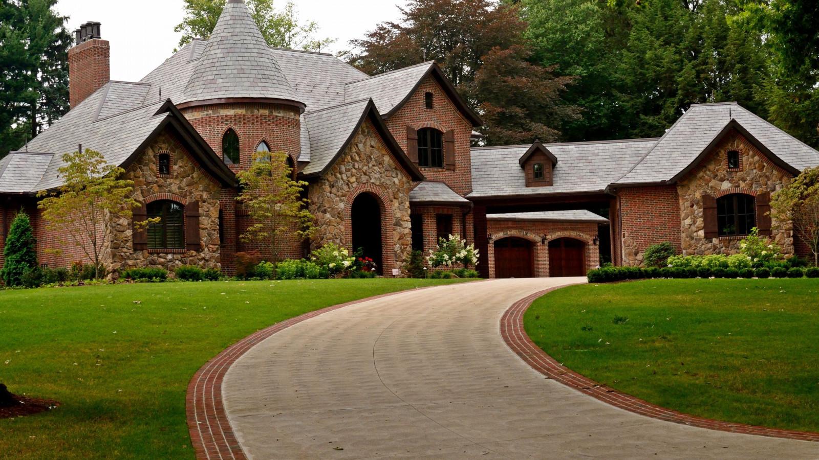 Fondos de pantalla arquitectura edificio pueblo for Casa rural mansion terraplen seis