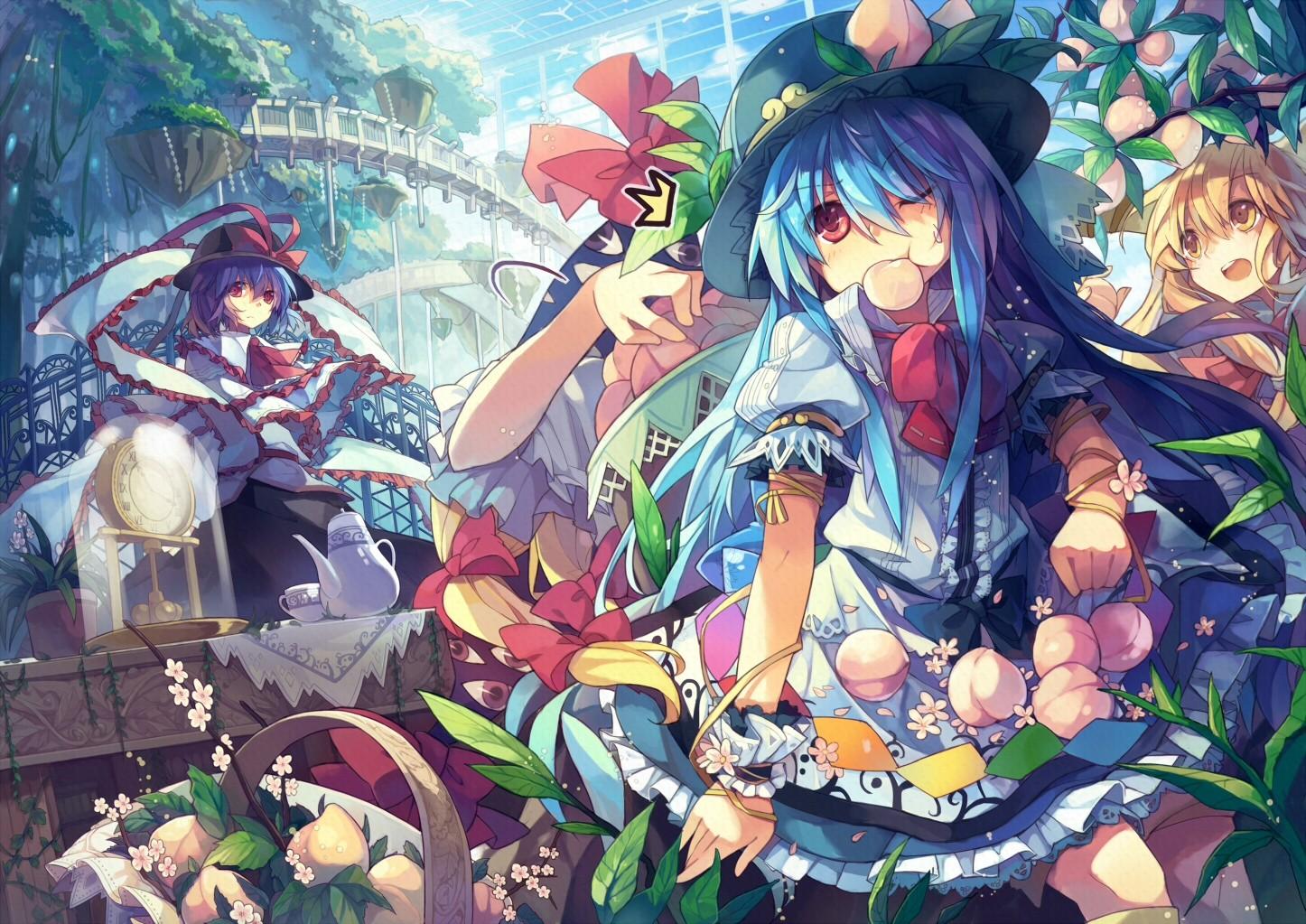 Fondos De Pantalla Anime Chicas Anime Touhou