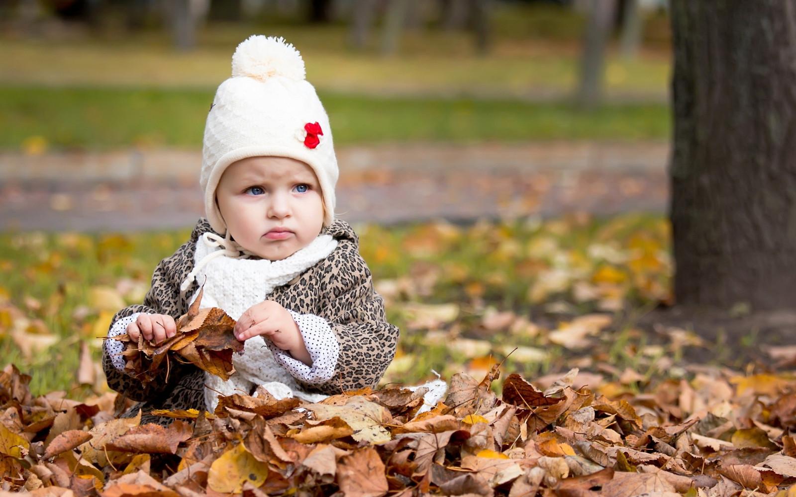 Осенняя картинка с детьми, картинки