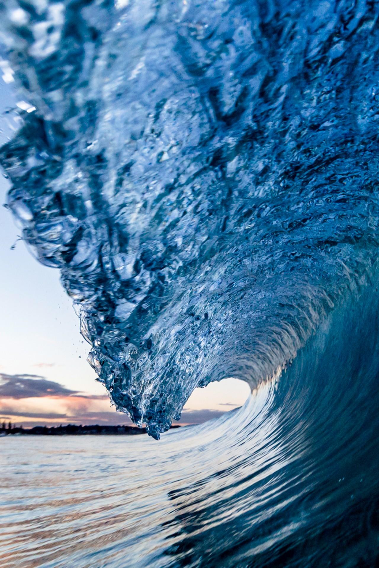 Sfondi Mare Acqua Cielo Calma Blu Onde Artico Congelamento