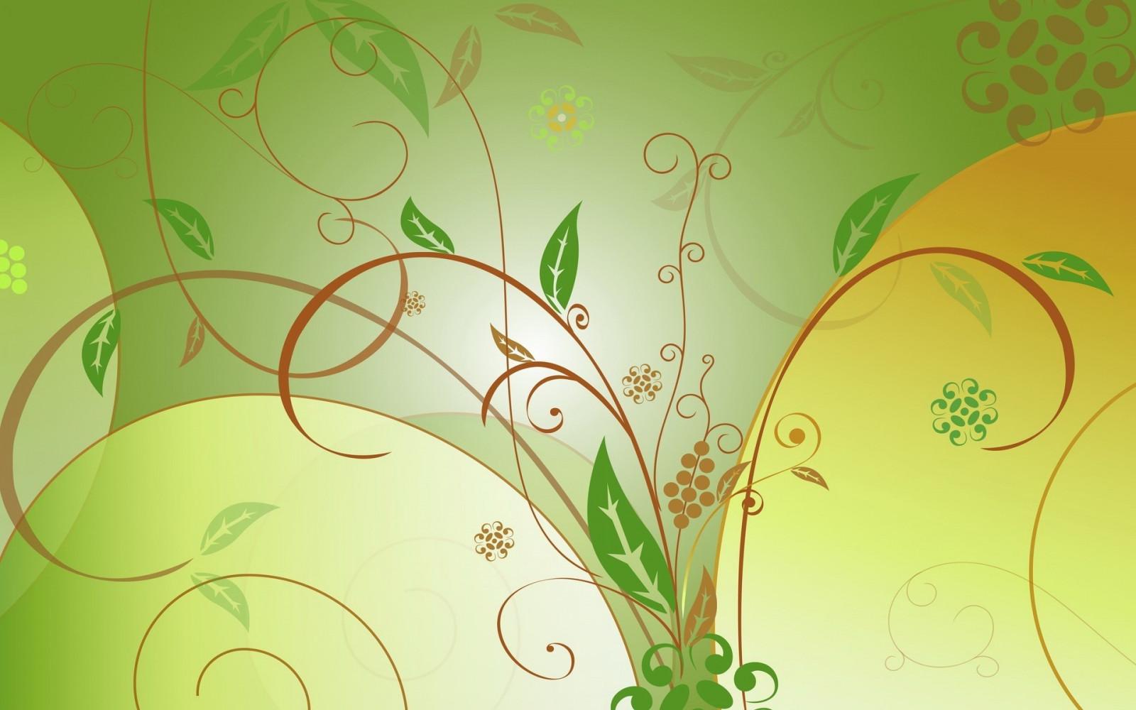 Wallpaper Drawing Leaves Illustration Grass Branch Green Pattern Circle Vector Art Leaf Flower Plant Background Flora Design Line Computer Wallpaper 1920x1200 4kwallpaper 694813 Hd Wallpapers Wallhere