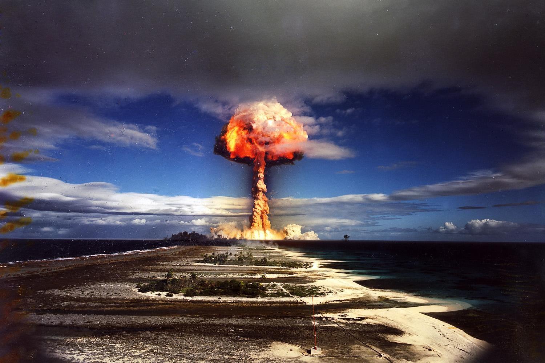 Bikini island bomb