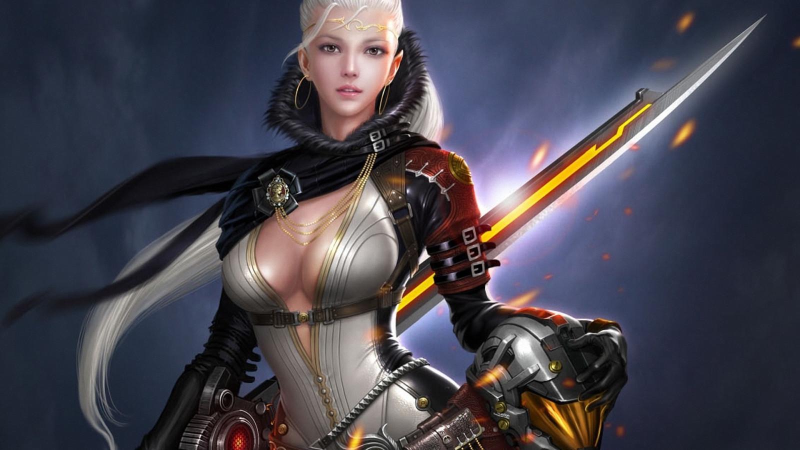 Medieval fantasy babe's nude archer xxx movies