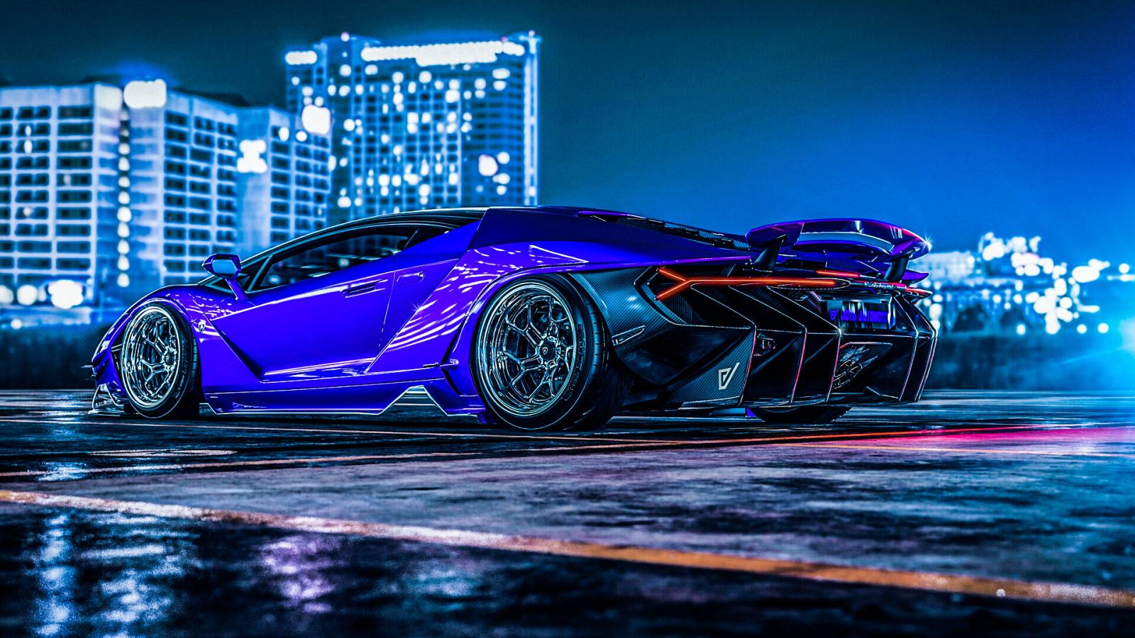 Wallpaper : Lamborghini Centenario, supercars, render ...