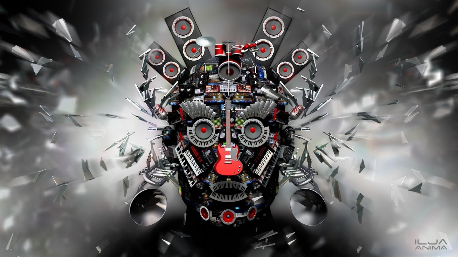 face, digital art, eyes, anime, car, 3D ...