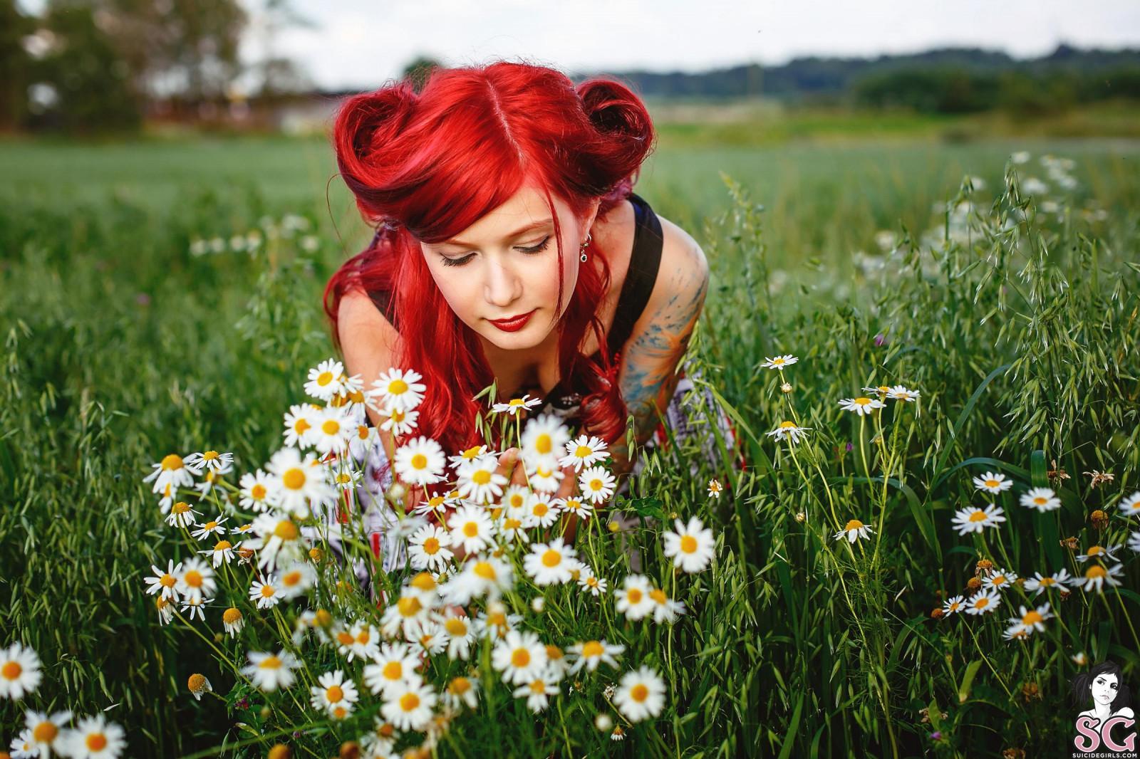 #4526215 #Janesinner Suicide, #redhead, #Yana Sinner, #