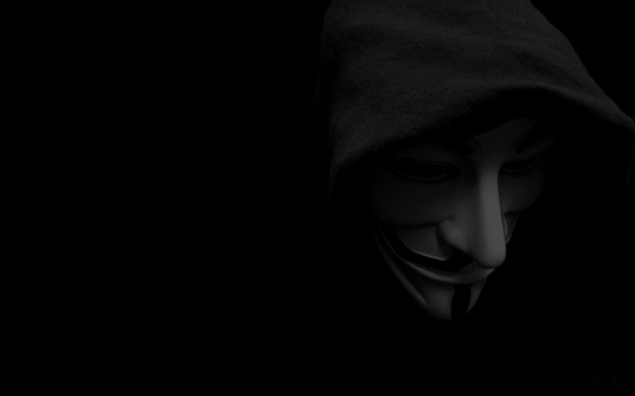 Face Black Monochrome Glasses Anonymous V For Vendetta Head Darkness Screenshot 1280x800 Px Computer Wallpaper