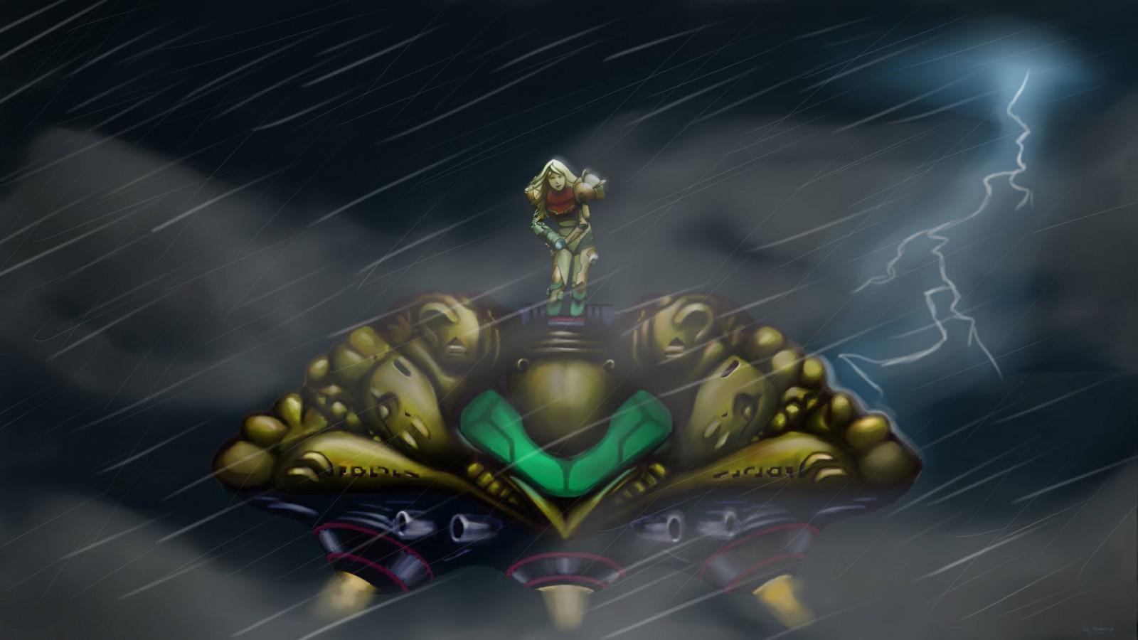Metroid Samus Aran Super