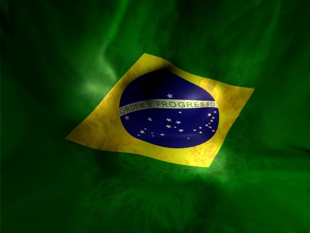 Sfondi Verde Giallo Bandiera Brasil Colore Foglia Forma