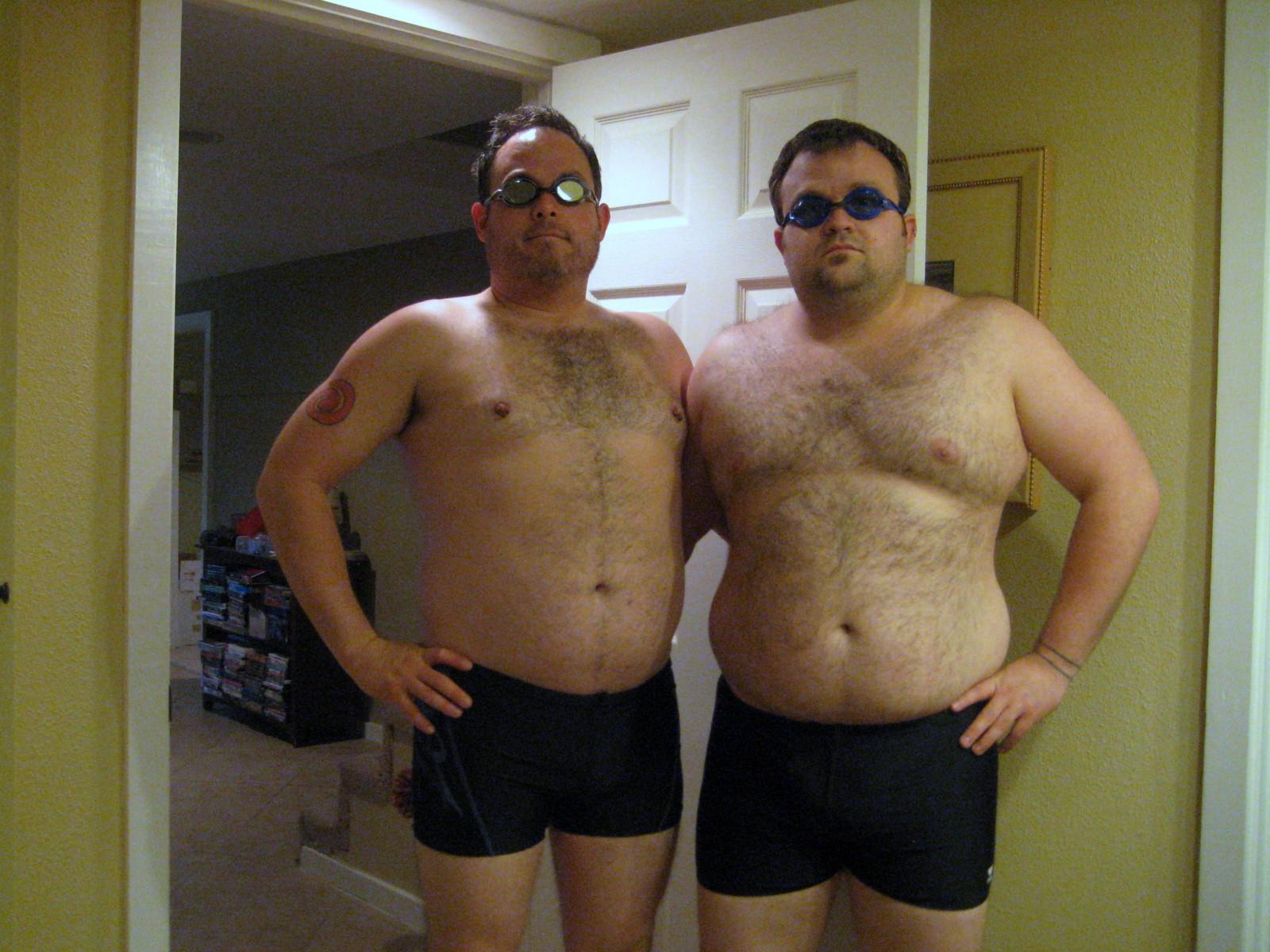 Homoseksuel med undertøj på