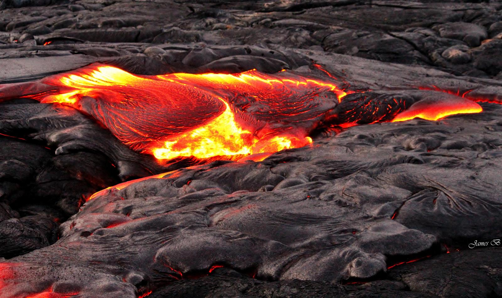 wie heiß ist lava