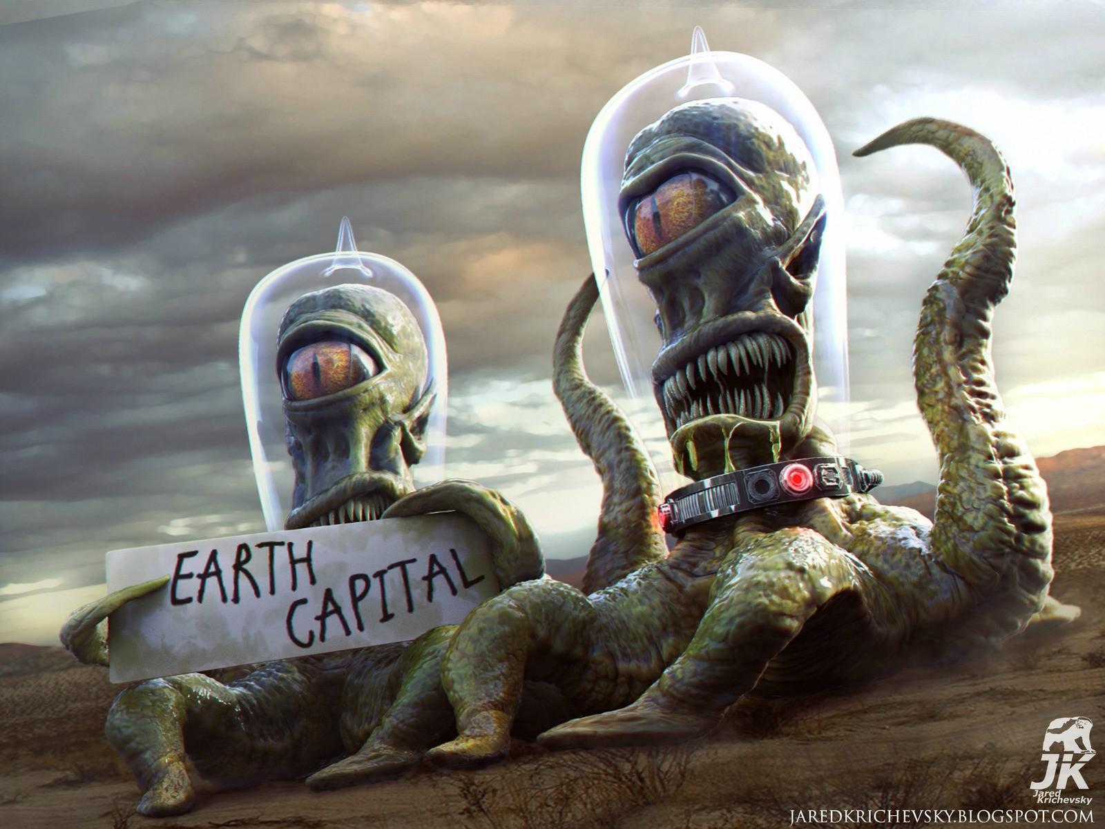 Инопланетянин прикольная картинка, про почту смешные