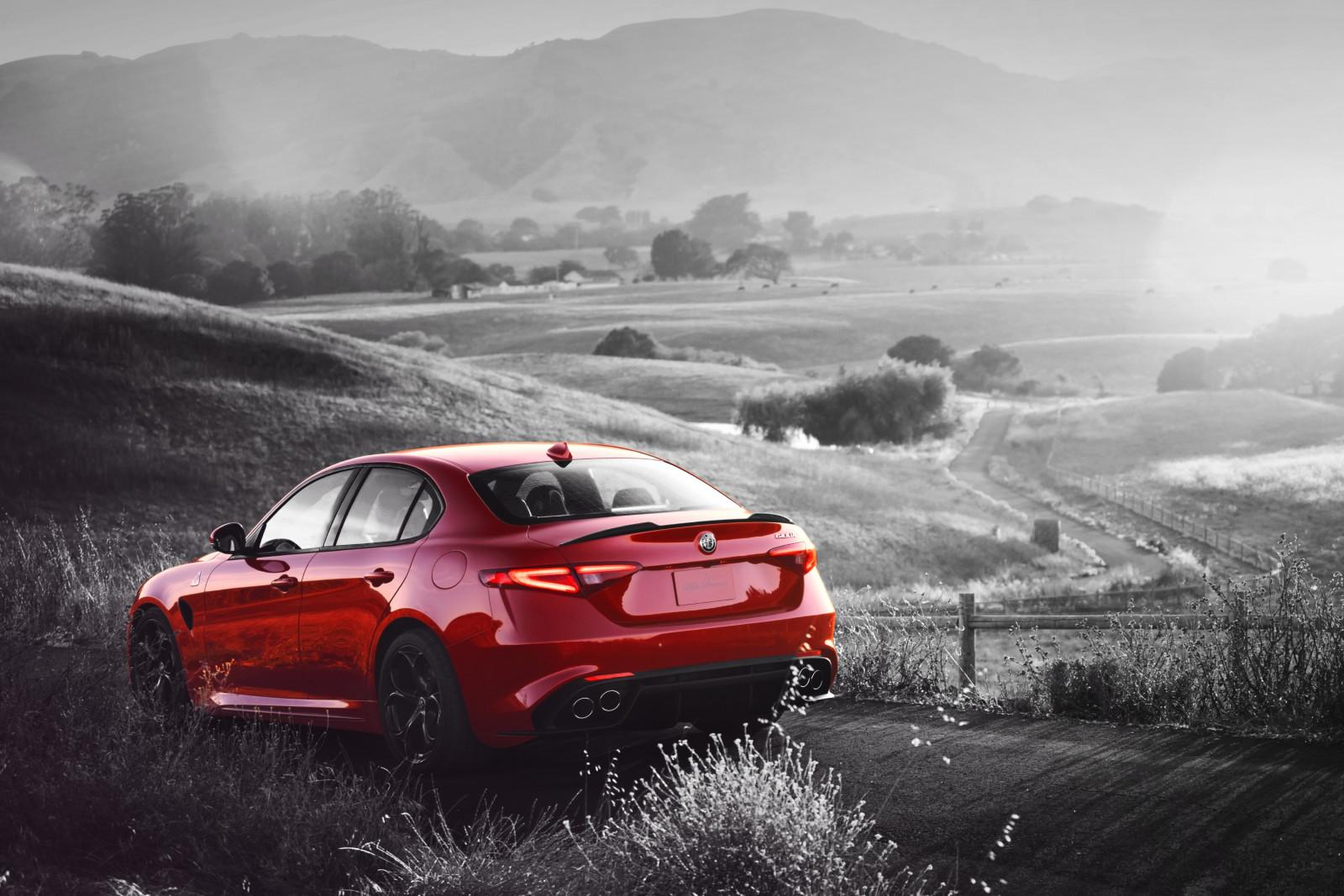 Wallpaper : sports car, Alfa Romeo, Sedan, netcarshow
